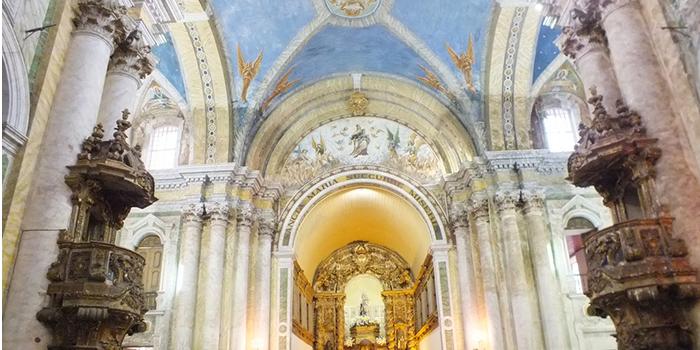 Interior da Igreja Nossa Senhora do Carmo, Belém, Pará - Mundo Gekos Receptivo
