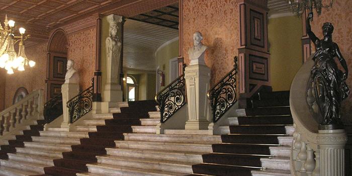 Escadaria Principal do Theatro da Paz, Belém, Pará 001 - Mundo Gekos Receptivo