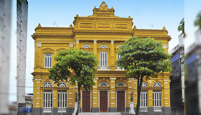 Centro Cultural Palácio Rio Branco, Manaus, Amazonas - Mundo Gekos Receptivo