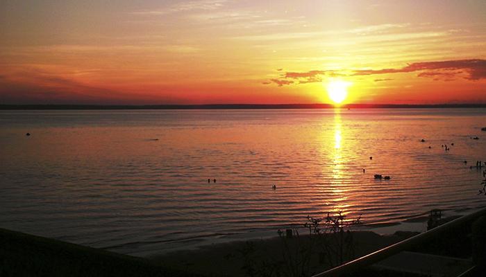 Pôr-do-sol no Rio Negro, Amazonas 001 - Mundo Gekos Receptivo