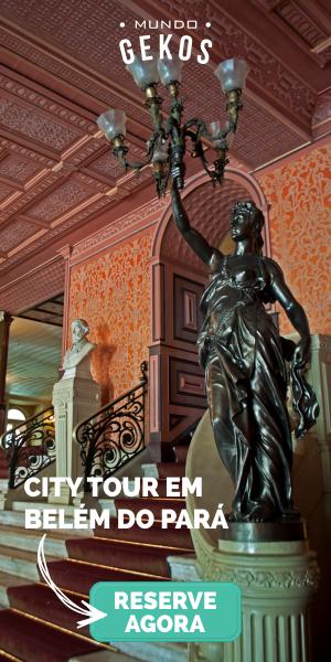 CITY TOUR BELÉM Mundo Gekos Receptivo
