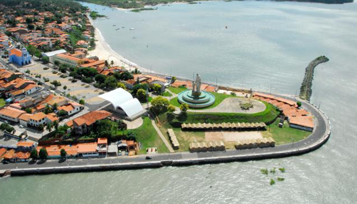Vista Aérea de São José de Ribamar, Maranhão 001 - Mundo Gekos Receptivo