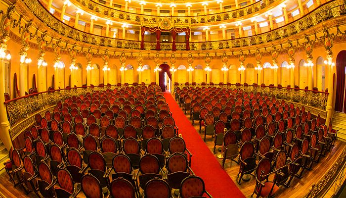 Vista Interna do Teatro Amazonas, Manaus, Amazonas 001